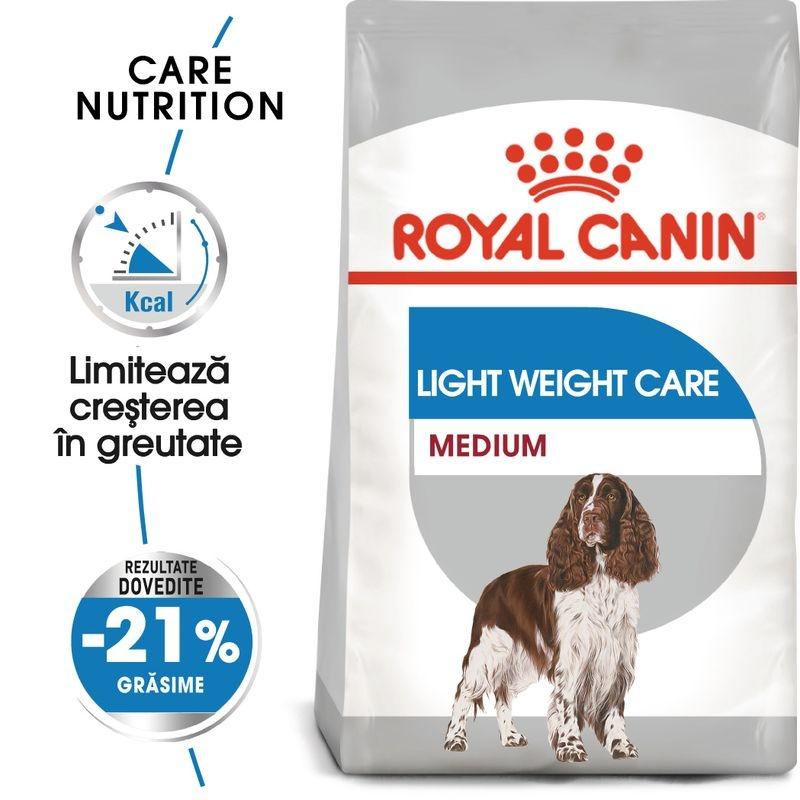 Royal Canin Medium Light Weight Care 3 Kg imagine