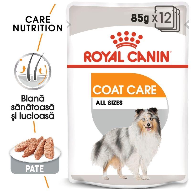 Royal Canin Coat Loaf Care, 12 plicuri x 85 g imagine