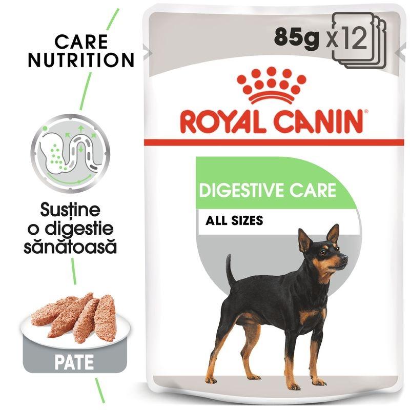 Royal Canin Digestive Loaf Care, 12 plicuri x 85 g imagine
