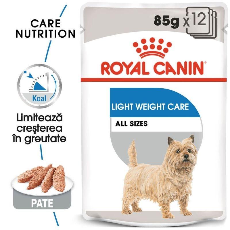 Royal Canin Light Loaf Care, 12 plicuri x 85 g imagine