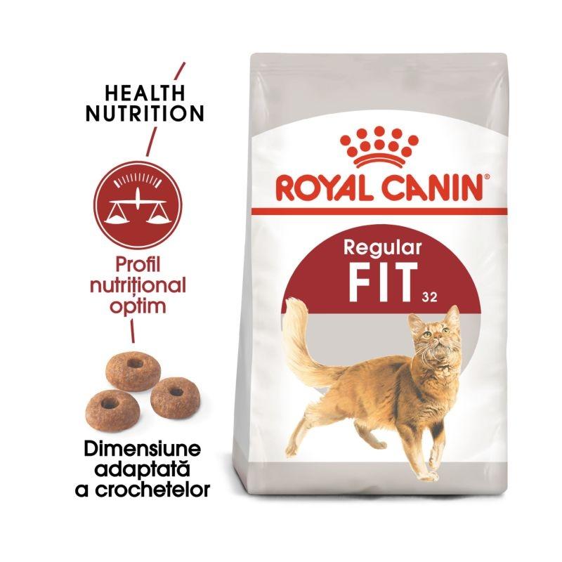 Royal Canin Feline Fit 32, 10 Kg + 2 kg CADOU imagine
