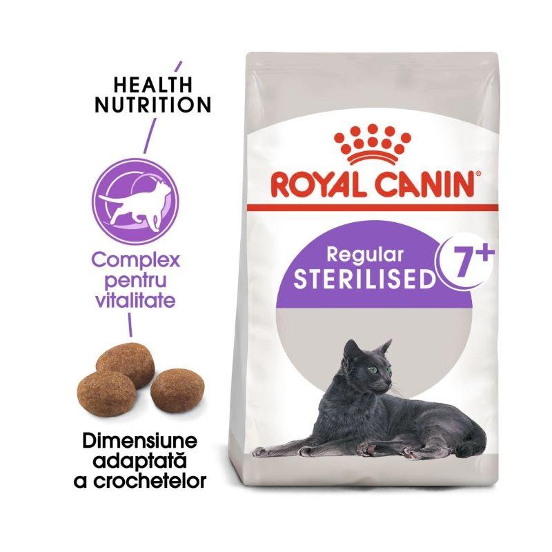 Royal Canin Feline Sterilised 7+ imagine