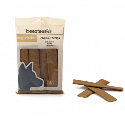 Recompensa caini, Beeztees Snack Strips, cu pui, 150 g imagine