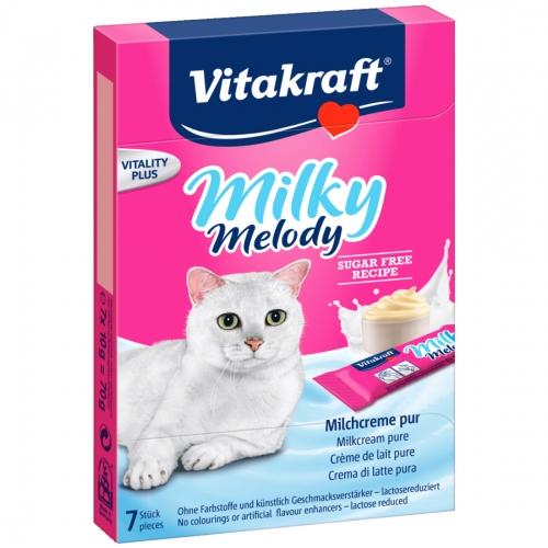 Recompense pentru pisici, Vitakraft Cat Milky Melody, 70 g imagine