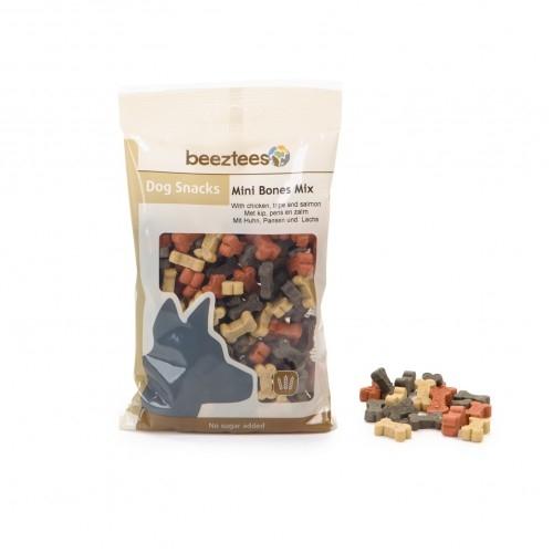 Recompensa caini, Beeztees Snack Mini Bones Mix, 150 g imagine