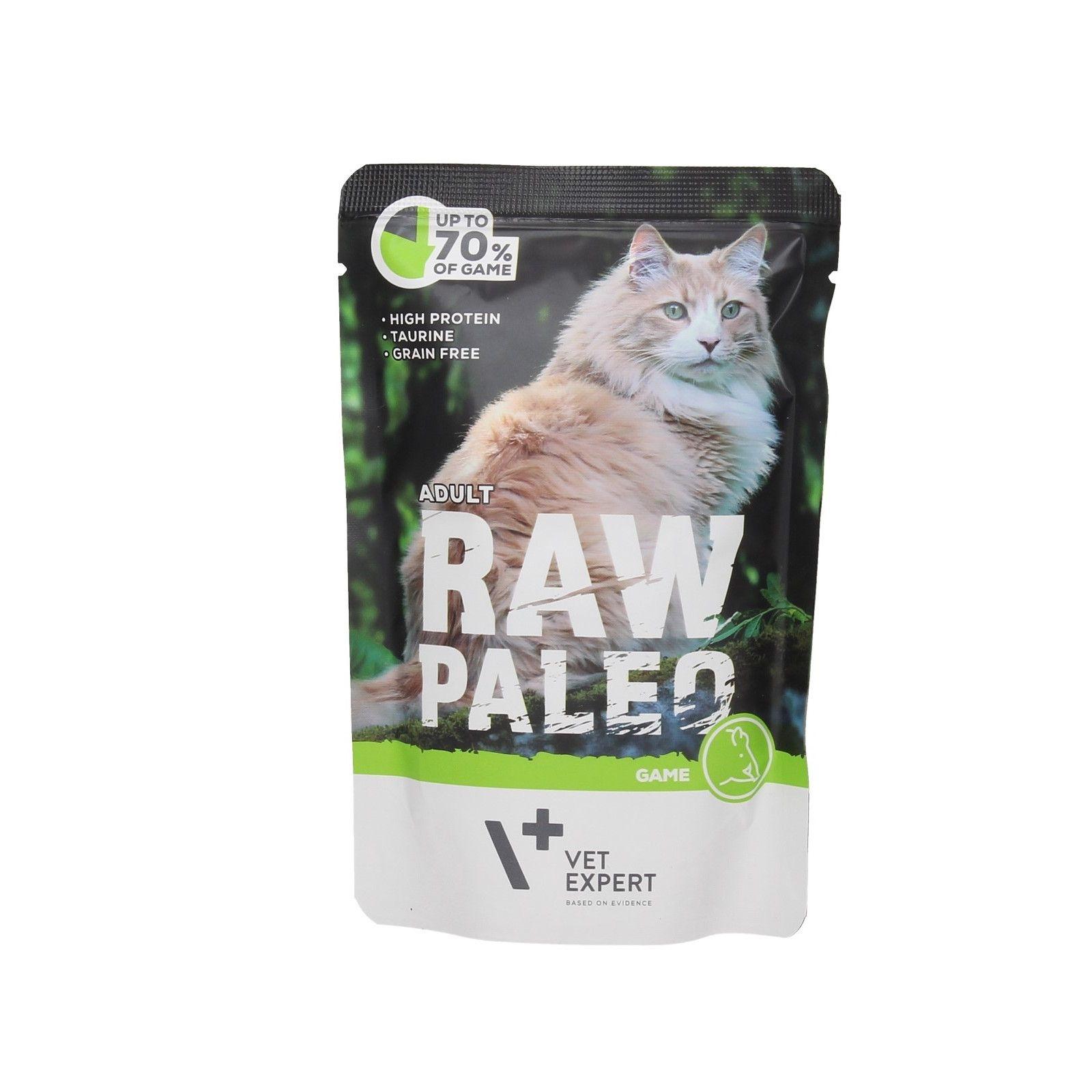 Hrana umeda, RAW PALEO CAT, adult, vanat, 100 g imagine