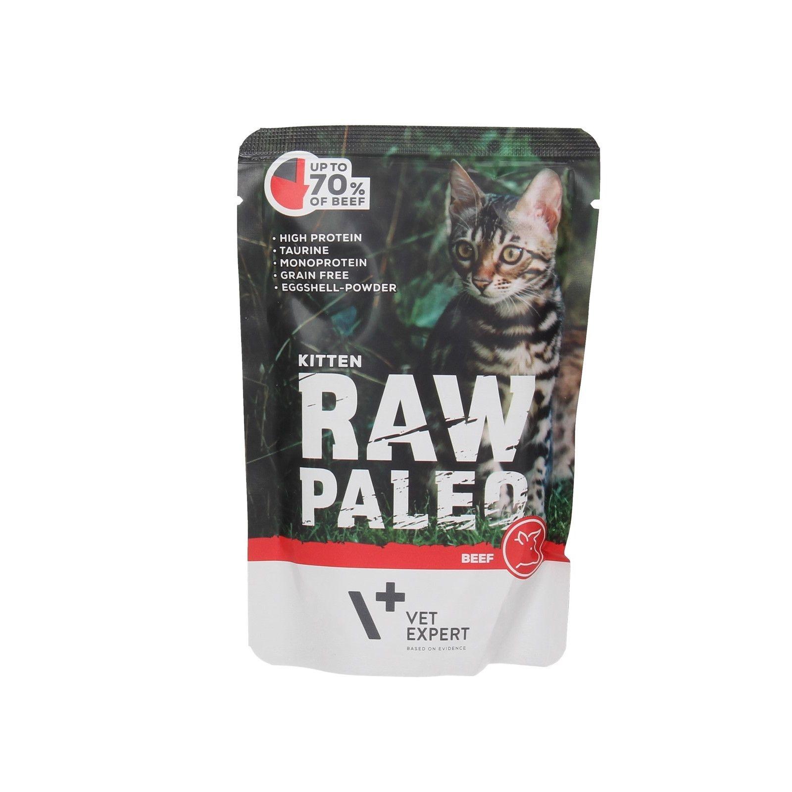 Raw Paleo Kitten, vita 100 g imagine