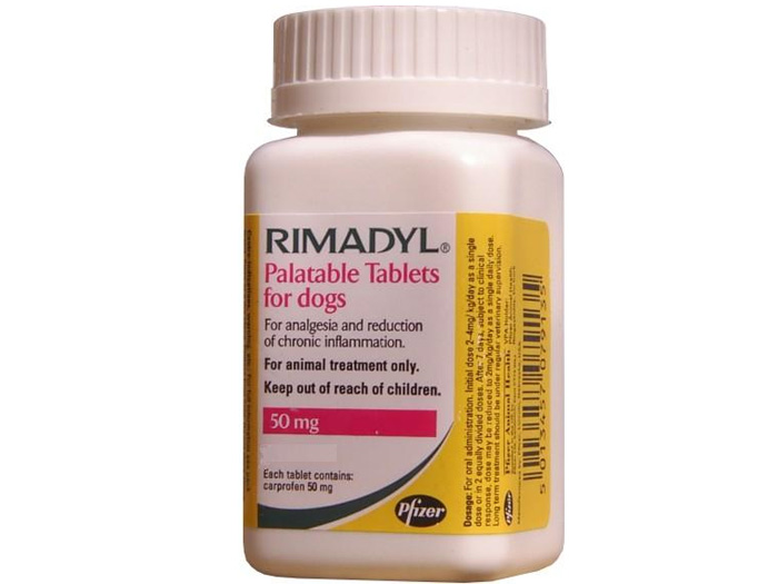 Rimadyl 50 mg, 20 tablete palatabile imagine