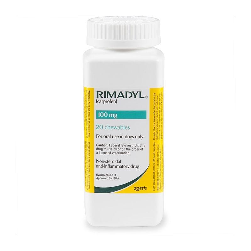 Rimadyl 100 mg, 20 tablete palatabile imagine