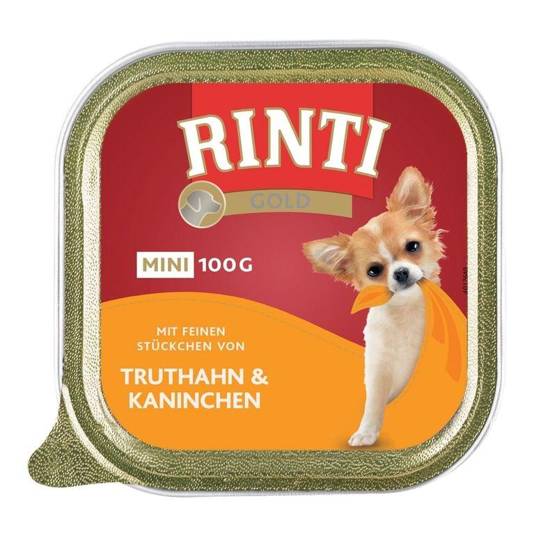 Rinti Gold Mini Pate Curcan si Iepure, 100 g imagine