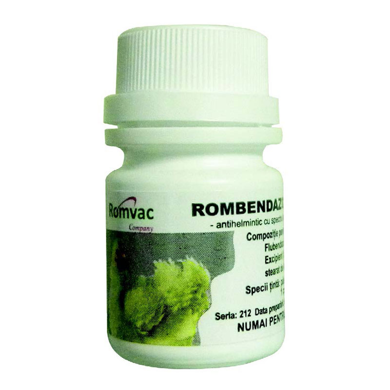 Rombendazol f 100 comprimate 10 68 ron petmart petshop for Clou arredi farmacie