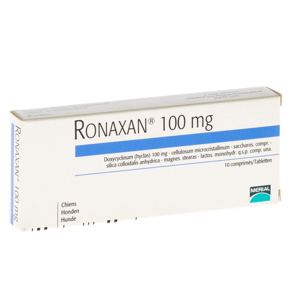 Ronaxan 100 mg/ 10 tablete imagine