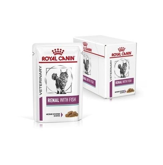 Royal Canin Renal Chicken Cat 12 plicuri x 85 g imagine
