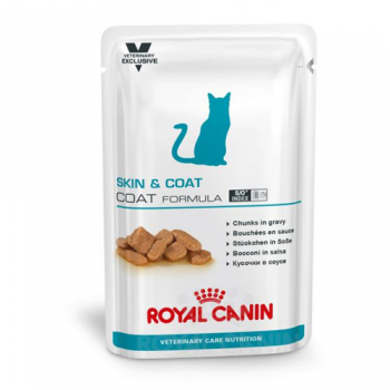 Royal Canin Skin & Coat Formula, 12 Plicuri X 85 G