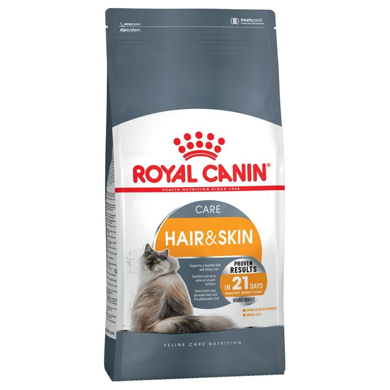 Royal Canin Feline Hair & Skin Care, 2 kg imagine