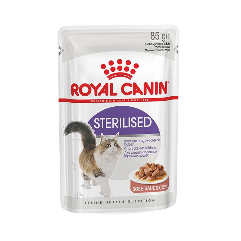 Royal Canin Feline Sterilised Gravy 1 plic x 85 g imagine
