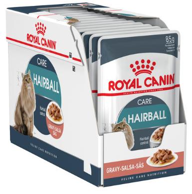 Royal Canin Hairball Care Gravy, 12 plicuri x 85 g imagine
