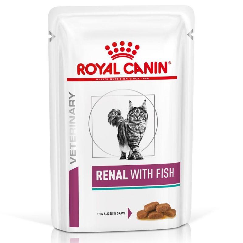Royal Canin Renal with Fish, 1 plic x 85 g imagine
