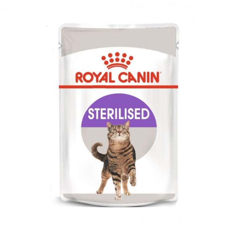 Royal Canin Sterilised Loaf, 1 plic x 85 g imagine