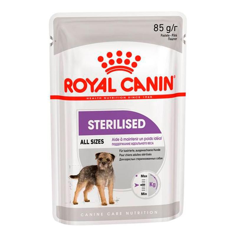 Royal Canin Sterilised Loaf Care Dog, 85 g imagine