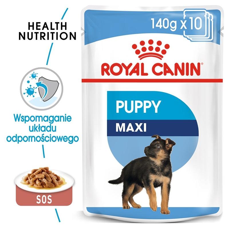 Royal Canin Wet Maxi Puppy, 10 x 140 g imagine