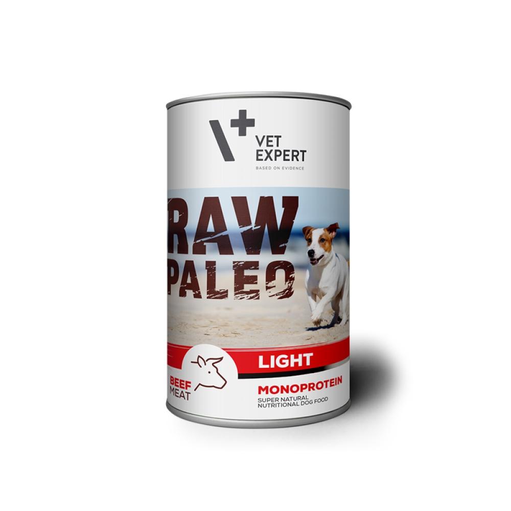 Hrana umeda, RAW PALEO Light, adult, vita, 400 g imagine