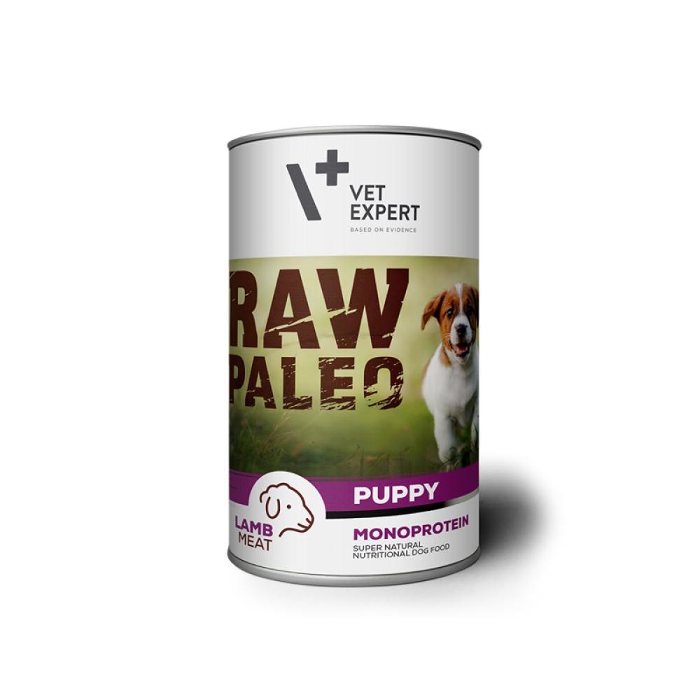Hrana umeda, RAW PALEO Puppy, carne de miel, 400 g imagine