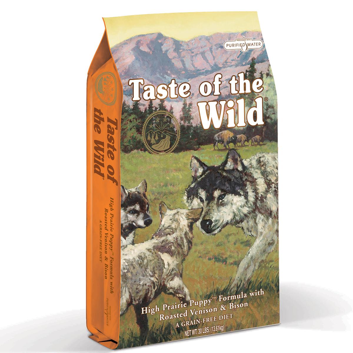 Taste of the Wild High Prairie Puppy Formula, 12.2 kg imagine