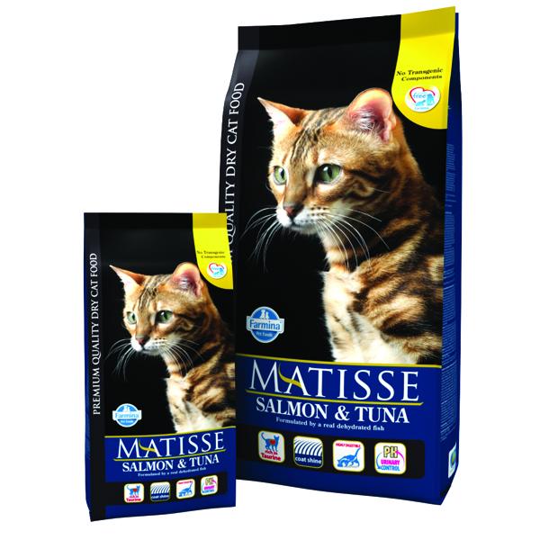 Matisse Original Cat Adult Somon si Ton 10 Kg imagine