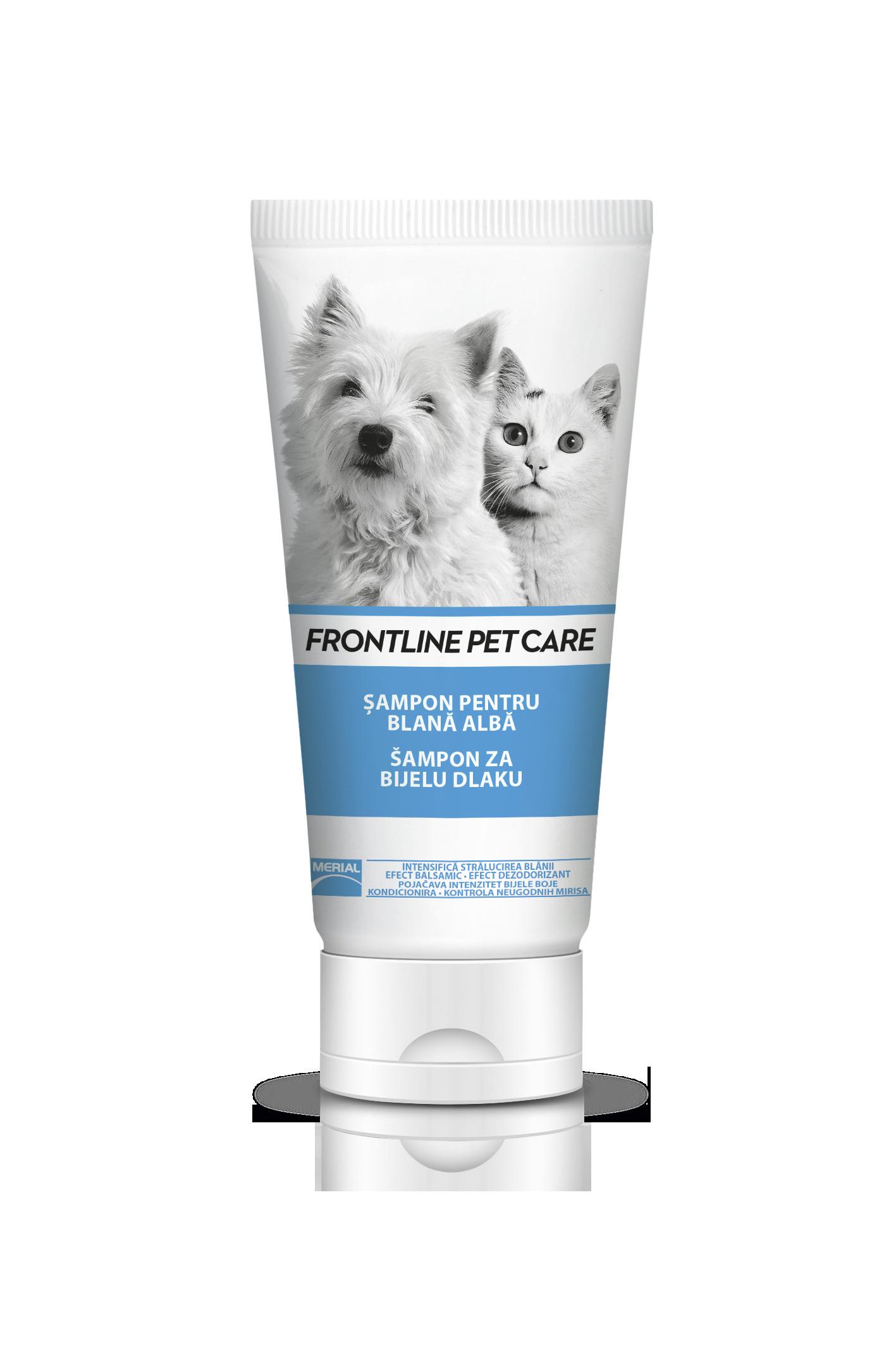 Frontline Pet Care White Shampoo, 200 ml imagine