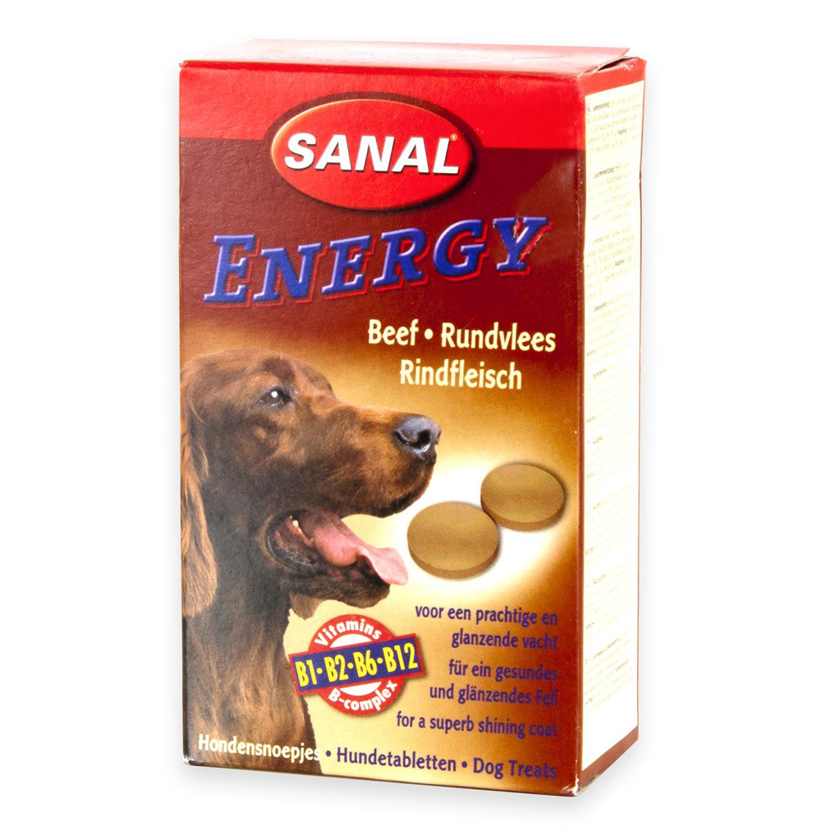 Sanal Dog Energy Beef 100 tablete imagine