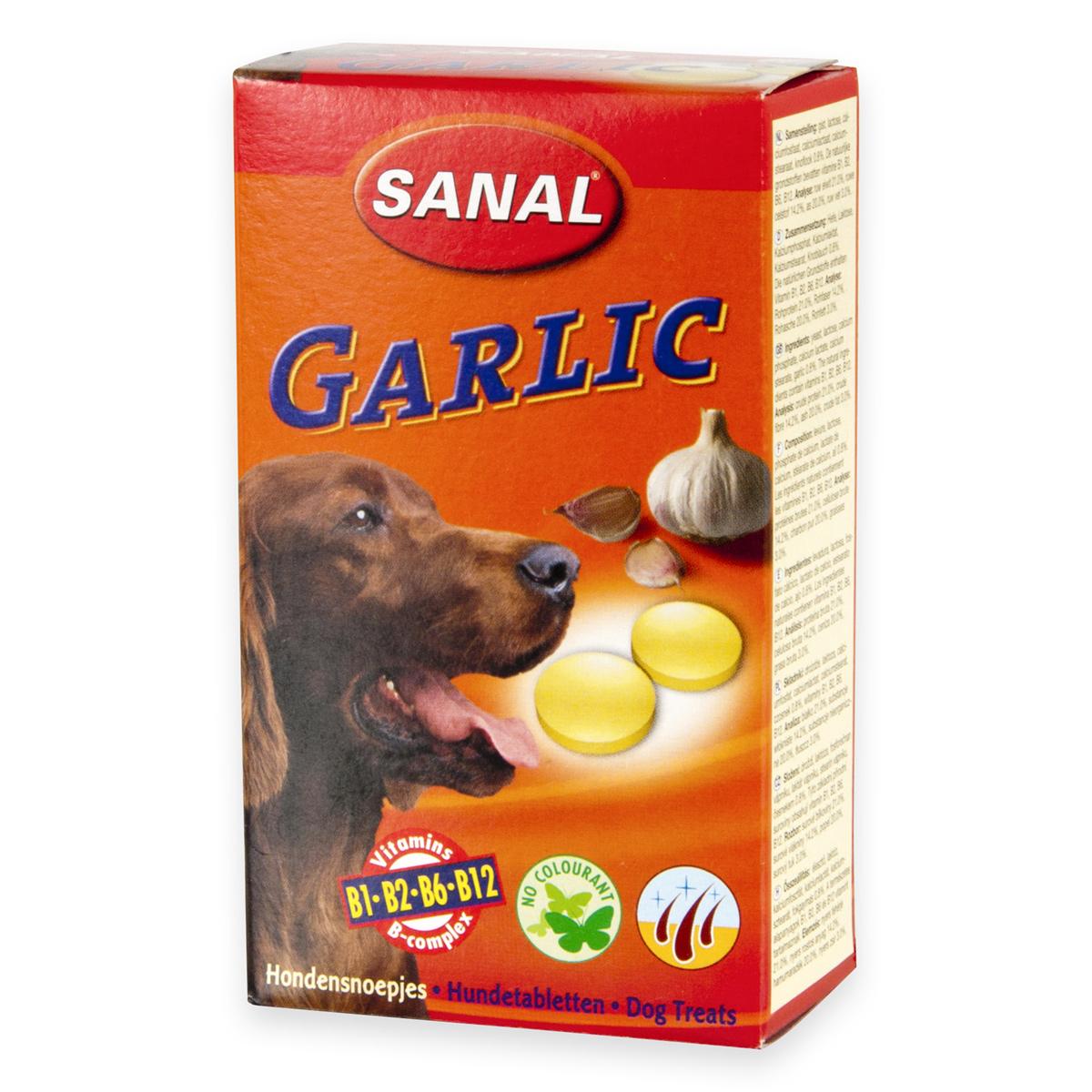 Sanal Dog Garlic 100 tablete imagine