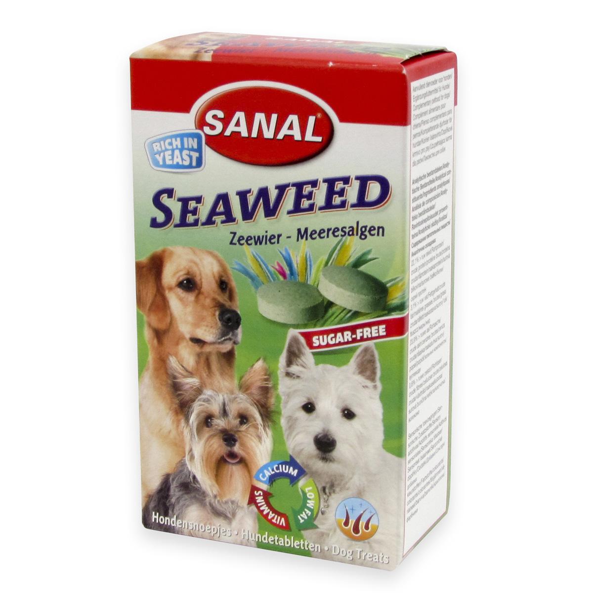 Sanal Dog Seaweed 100 tablete imagine
