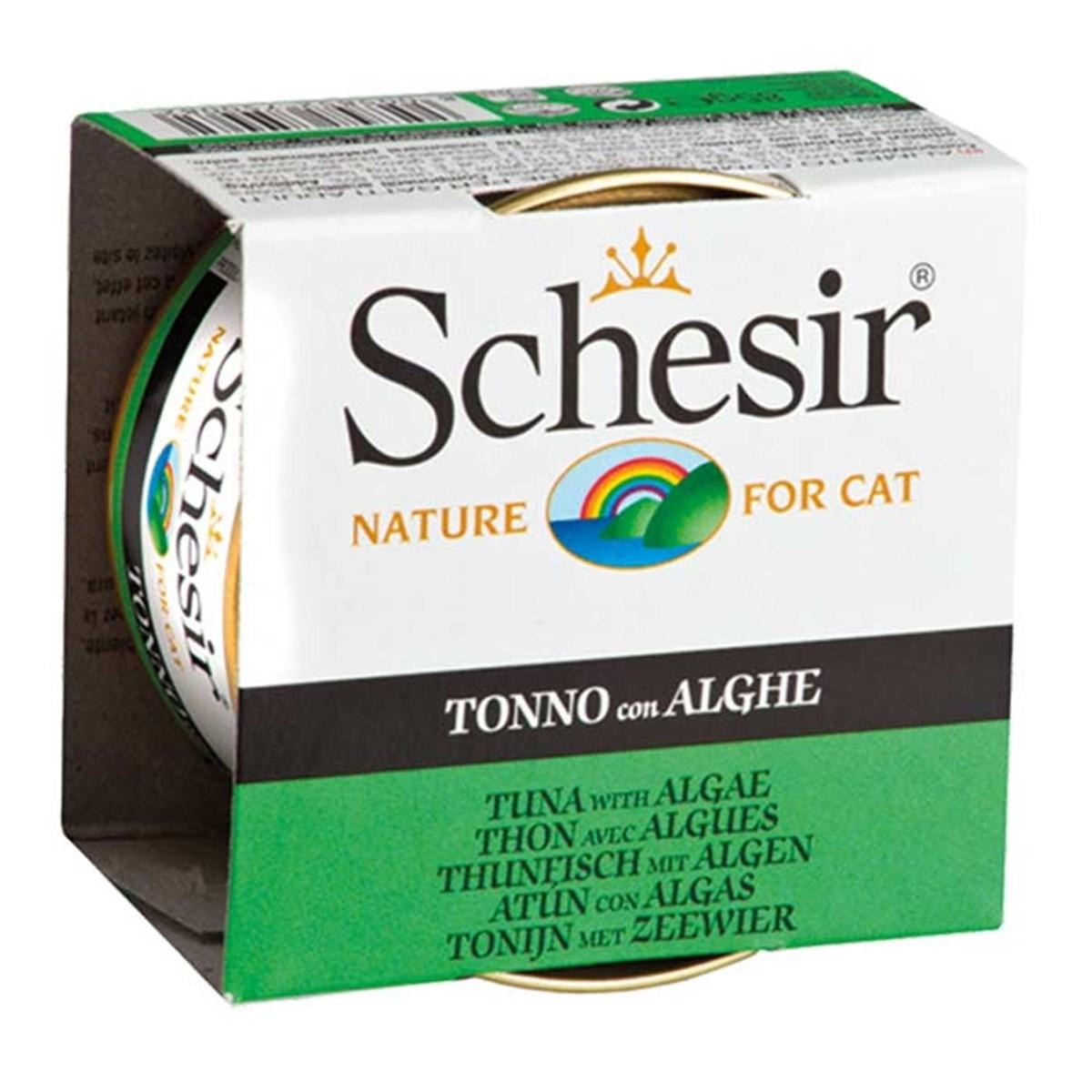 Schesir Conserva Ton si Alge 85 g imagine