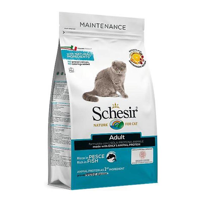 Schesir Cat Adult Monoprotein Peste 400 g imagine