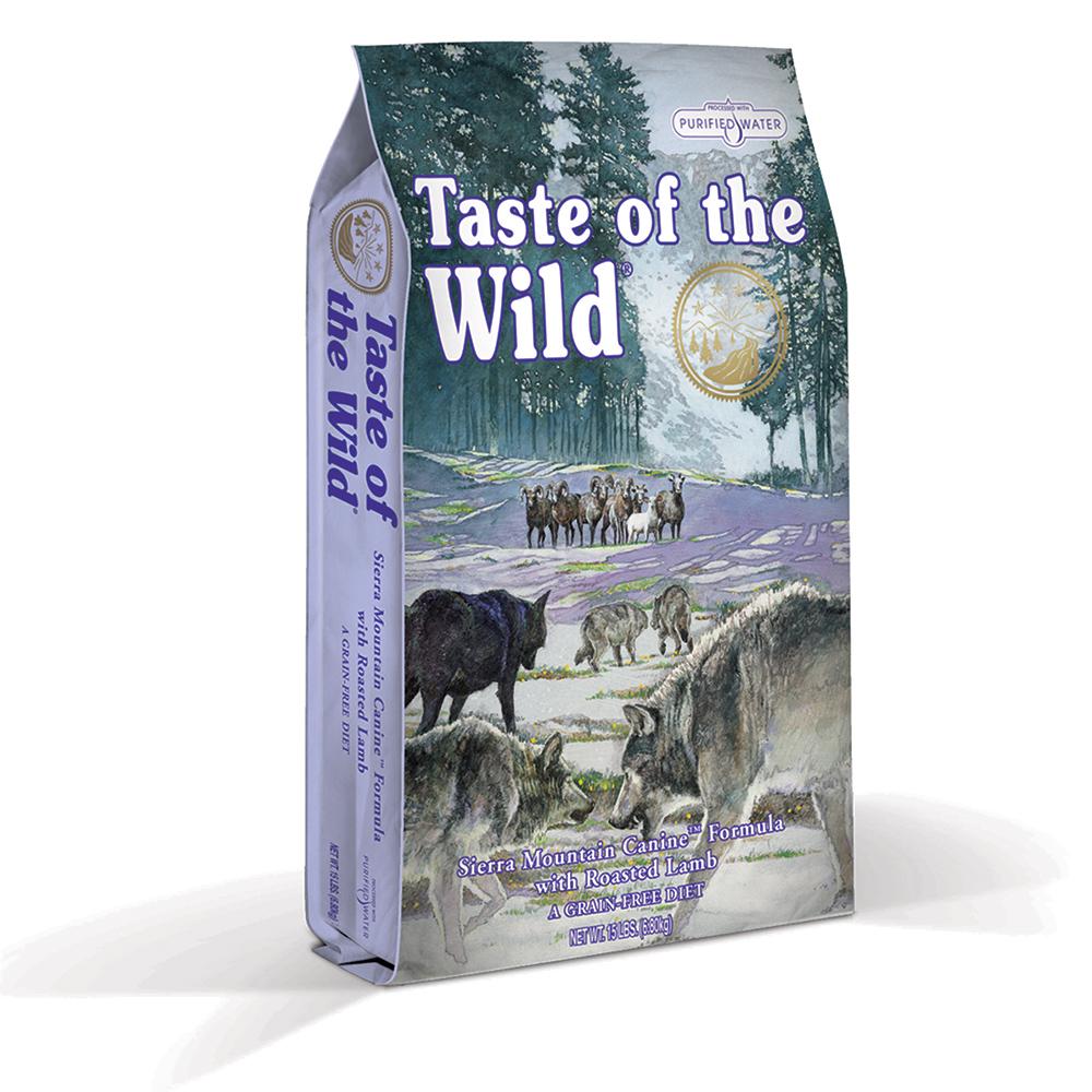 Taste of the Wild Sierra Mountain, 6 kg imagine