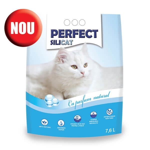 Nisip silicat, Perfect SiliCat, Natural, 7.6 L imagine