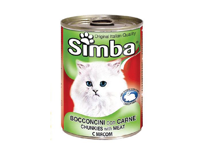 Simba Pisica Vitel Conserva 415 g imagine