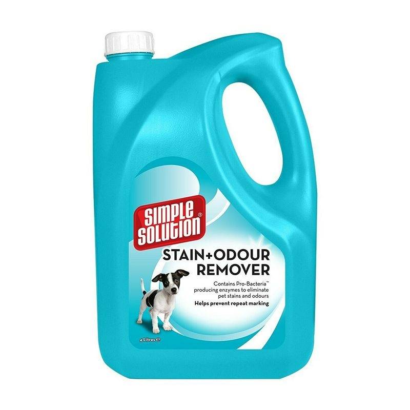 Simple Solution Dog Stain and Odour Remover, 4 l imagine