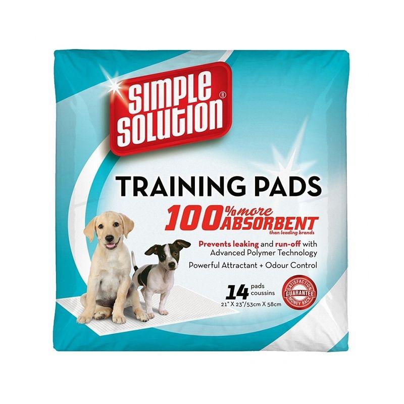 Simple Solution Training Pads, 53 x 58 cm, 14 bucati imagine
