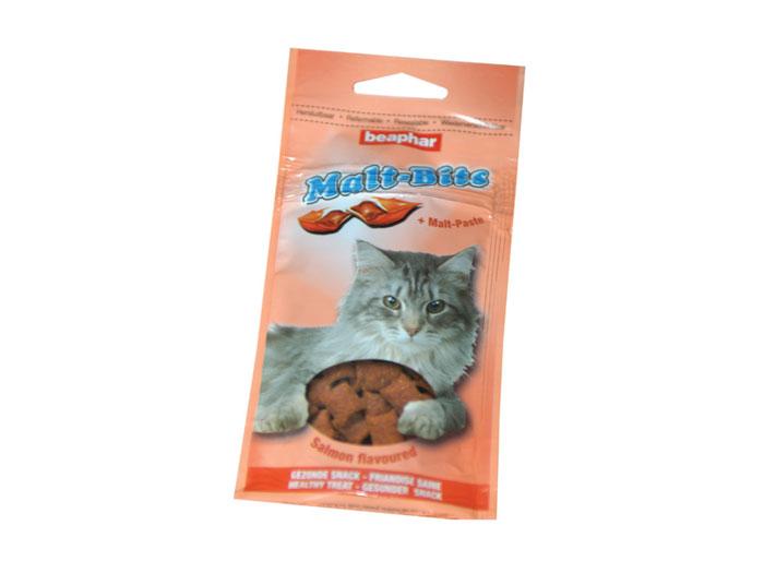 Beaphar Snacks Pisica Malt-Bits Salmon, 35 g imagine