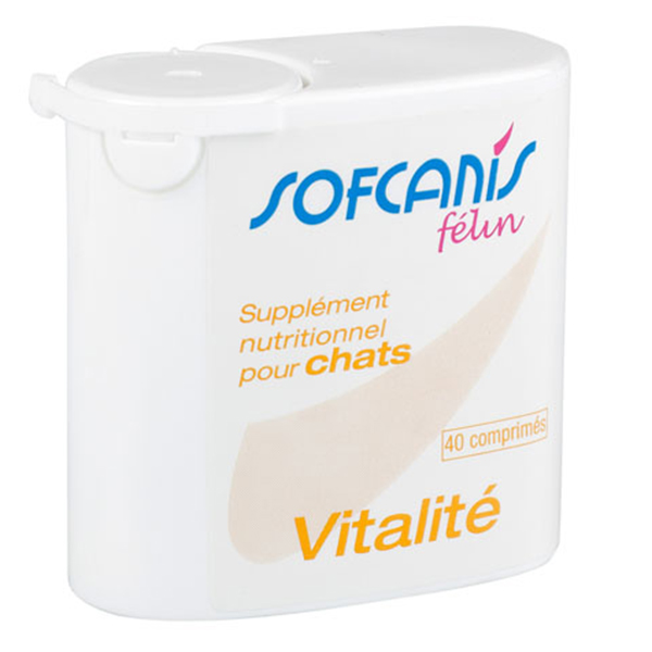 Sofcanis Feline Vitalite 40 comprimate imagine