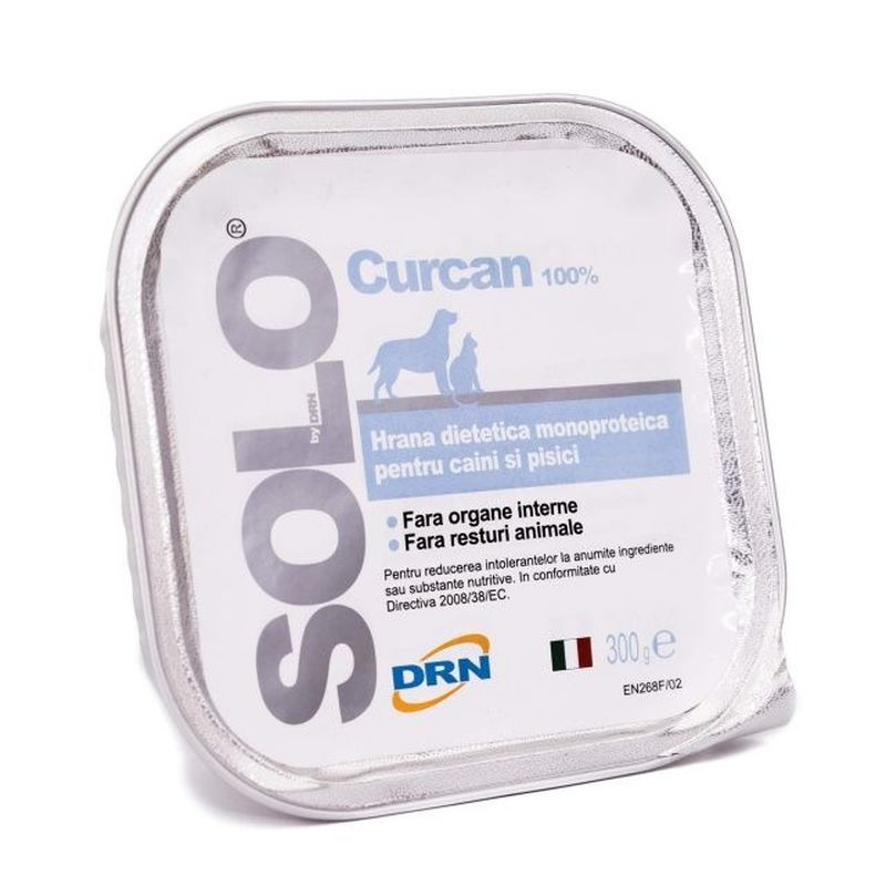 Solo, conserva 100% Curcan, 300 g imagine