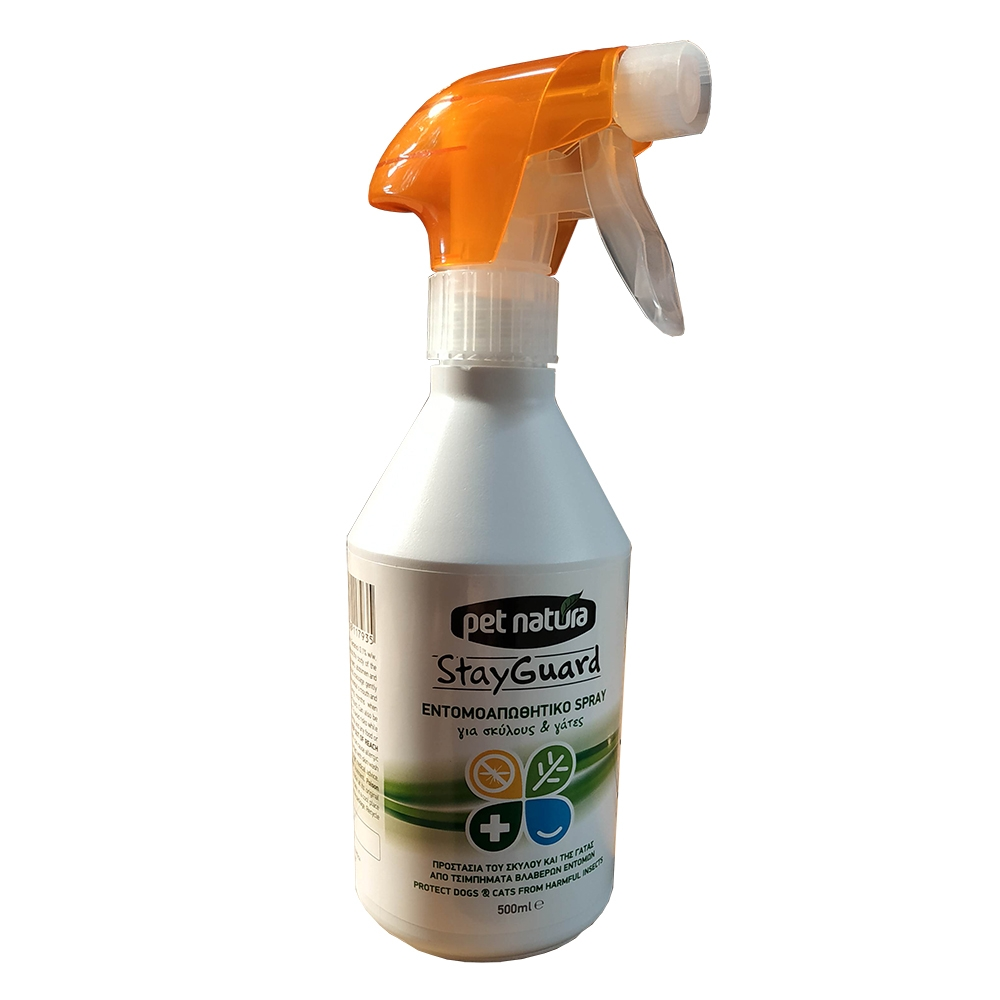 Repelent insecte, Pet Natura StayGuard Spray, 500 ml imagine