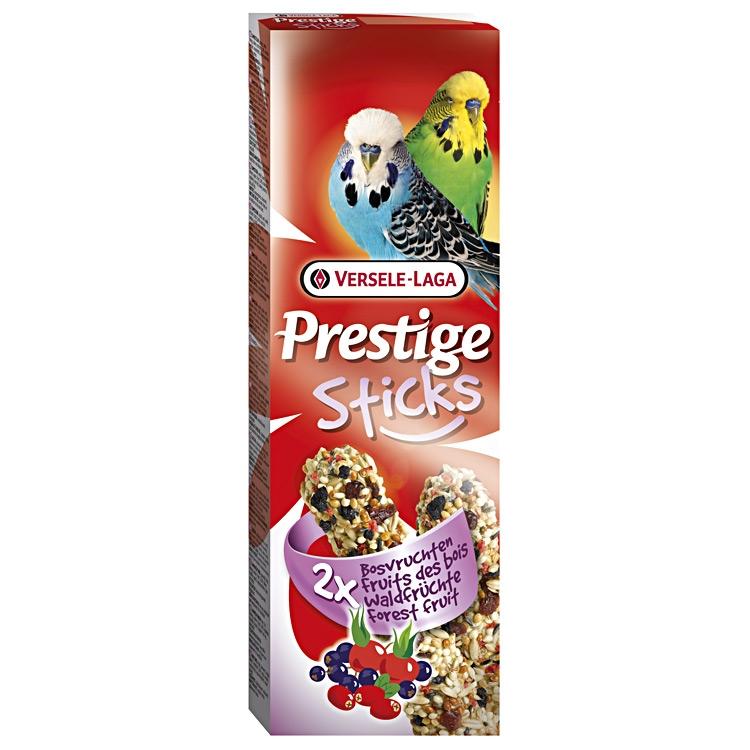 Sticks cu fructe de padure pentru perusi, Versele-Laga Prestige, 2x30g imagine