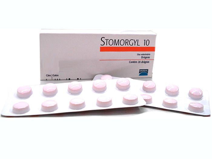 STOMORGYL 10 mg 20 comprimate imagine
