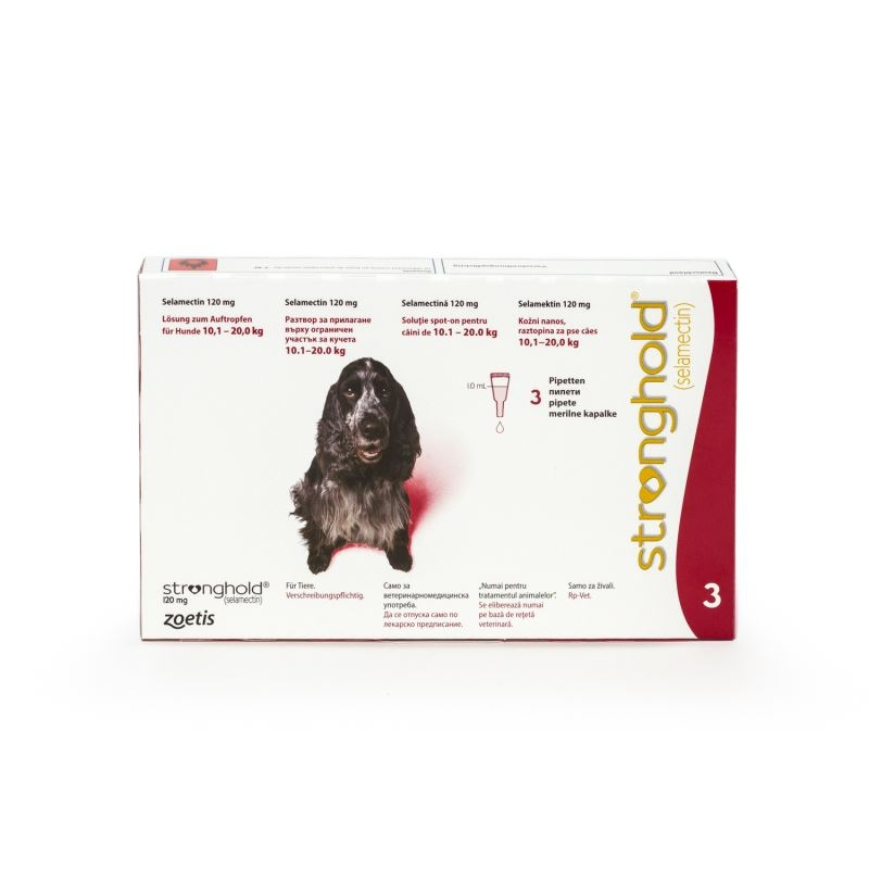 Stronghold Caine 120 mg (10 - 20 kg), 3 pipete imagine