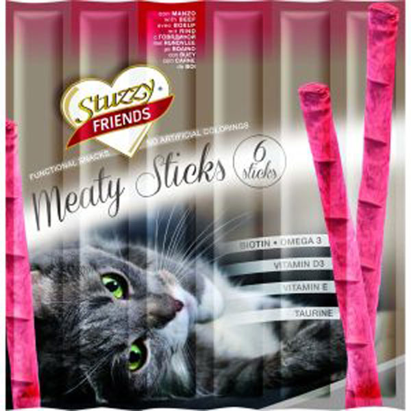 Stuzzy Snack Cat Pui 6 Buc imagine