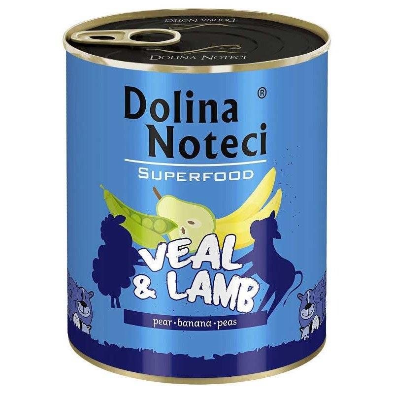 Hrana umeda caini, Dolina Noteci Superfood Vitel si Miel, 800 g imagine