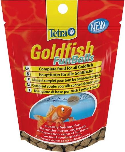 Tetra Goldfish Funballs 20 G imagine